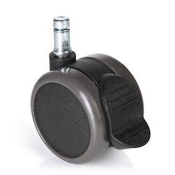 5-pack stolshjul för hårda golv ROLOS STOP 10 mm / 65 mm