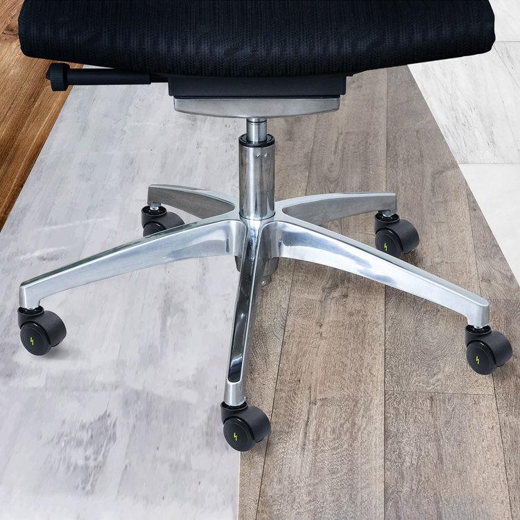 5-pack Rolos ESD stolshjul för hårda golv 10 mm / 50 mm