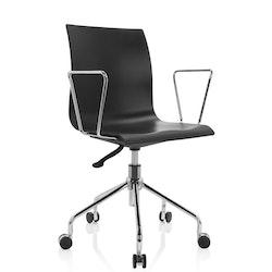 Skrivbordsstol, Skagen - Svart & vit