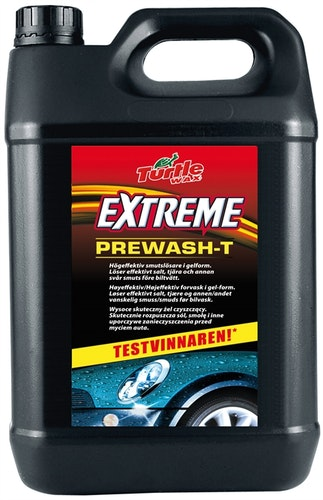 Turtle wax prewash