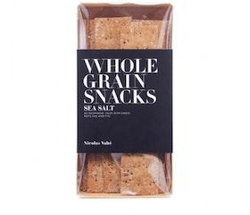 Whole grain snacks Sea salt