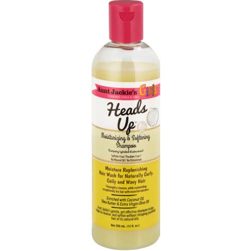 Aunt jackie's heads up girls moisturizing & softening shampoo 355ml