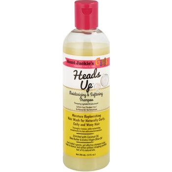 Aunt jackie's heads up girls moisturizing & softening shampoo 355ml