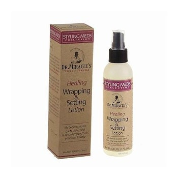 Dr. Miracle's healing wrapping & setting lotion 177.6ml