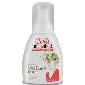 Ors curls unleashed shine & define mousse 236ml