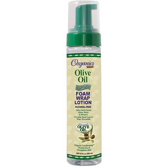 Africa's best organics olive oil foam wrap lotion 251ml