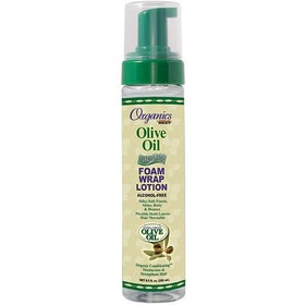 Africa's best organics olive oil foam wrap lotion 251ml