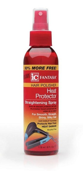 Fantasia heat protector straightening spray 178ml