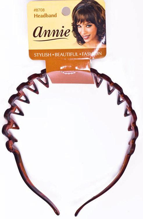 Wave headwrap brown