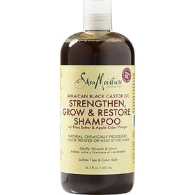 Shea moisture black castor oil strengthen, grow & Rest. shampoo 384  ml
