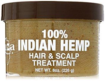 Kuza 100% indian hemp hair & scalp treatment 226g