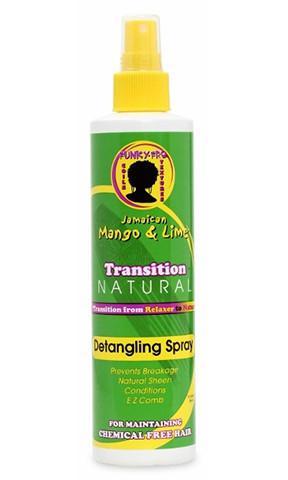 Jamaican mango & lime transition natural detangling spray 296ml