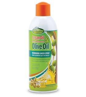 Sof N free gro healthy argan & olive oil sheen 445ml