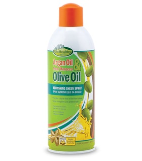 Sof N' free gro healthy argan & olive oil sheen 445ml