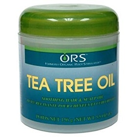 Organic root stimulator tea-tree oil hair dress 156g