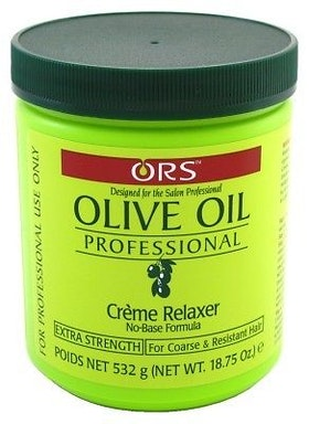Organics olive oil relaxer jar(normal) 532g