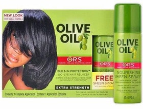 ORS NO LYE RELAXER KIT WITH SHEEN SPRAY (NORMAL)