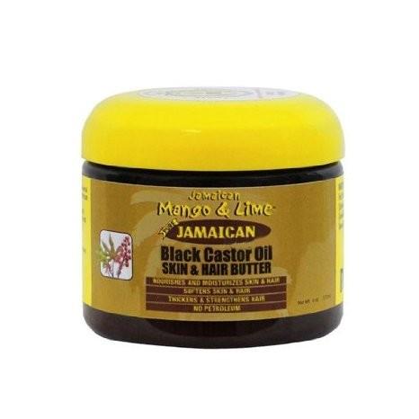 Jamaican mango and lime  black castor oil skin & hair butter 117ml