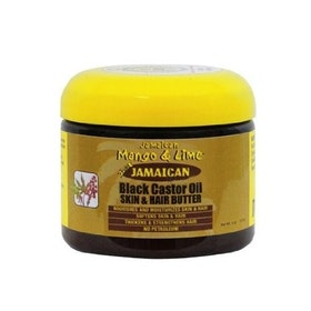 Jamaican mango and lime  black castor oil skin & hair butter 117ml