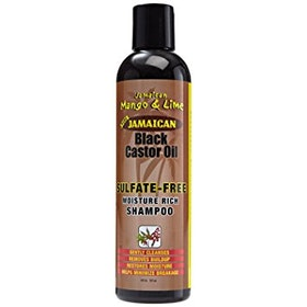 Jamaican mango and lime  castor oil sulphate free shampoo 237..ml
