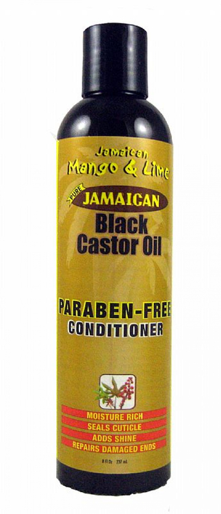 Jamaican and mango lime castor oil paraben free conditioner 237.ml