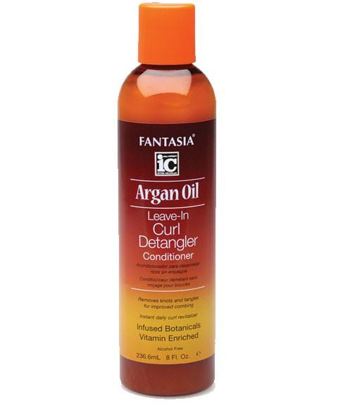 Ic fantasia argan oil leave in curl detangler 236.6ml.