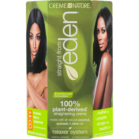Creme of nature straight from eden hair straightener type A