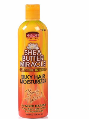 African pride shea butter silky hair moisturizer 355ml