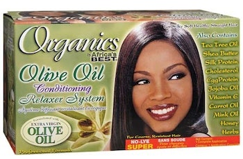 Africa's best organics relaxer kit (SUPER)