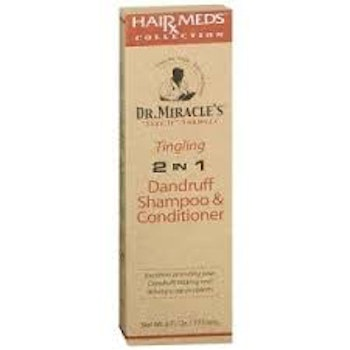 DR. MIRACLES 2in1 tingling dandruff shampoo & conditioner 117.6ml