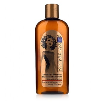 Dark and Lovely naturally soothing peppermint anti-itch shampoo. 273ml