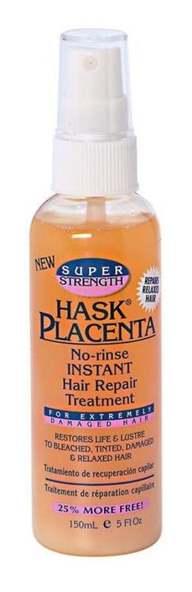Hask Placenta No-Rinse hair repair treatment super. 150ml