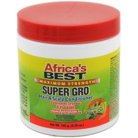AFRICA'S BEST MAX.. SUPER GRO HAIR & SCALP CONDITIONER 149G