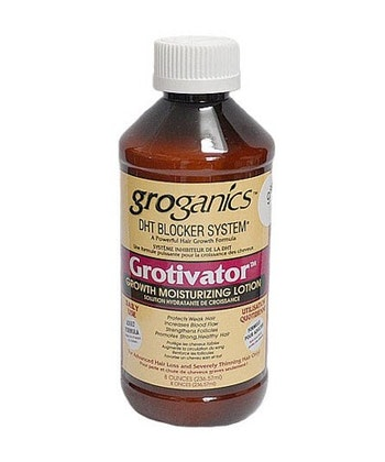 GROGANICS GROTIVATOR GROWTH MOISTURIZING LOTION 236.5 ML