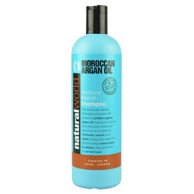 NATURAL WORLD MOROCCAN ARGAN OIL MOISTURE  SHAMPOO 500 ML