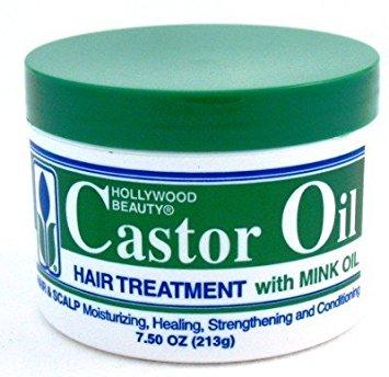HOLLYWOOD BEAUTY CASTOR OIL HAIR TREATMENT 213G