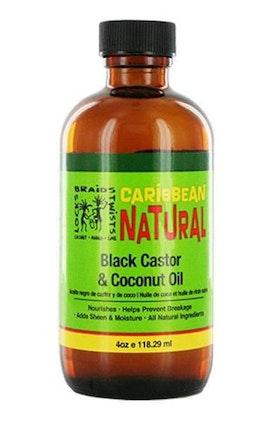 CARRIBEAN NATURLIG BLACK CASTOR & COCONUT OIL 118.3ML