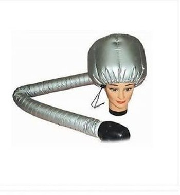Hair dryer bonnet(Gray)