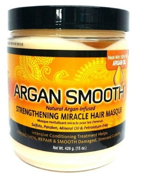 ARGAN SMOOTH STRENGTHENING MIRACLE HAIR MASQUE 426G