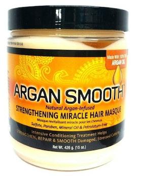 ARGAN SMOOTH STRENGTHENING MIRACLE HAIR MASQUE 426G