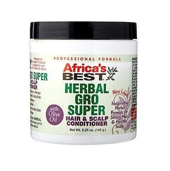 Africa's best herbal gro super hair & scalp conditioner