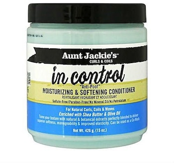 AUNT JACKIE'S CURLS & COILS IN CONTROL 'ANTI POOF' CONDITIONER 426G