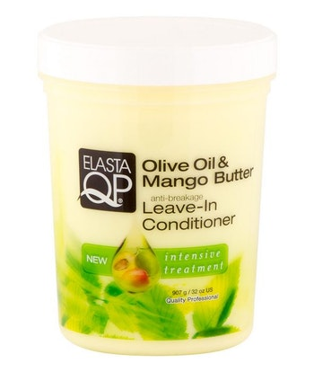 ELASTA QP OLIVE OIL & MANGO BUTTER ANTI  BREAKAGE LEAVE-IN CONDITIONER 510G