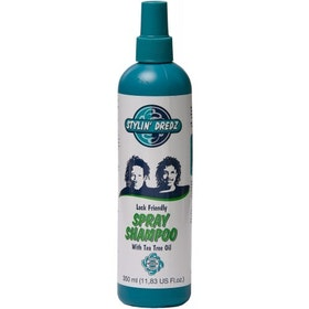 stylin' dredz lock friendly spray shampoo  350ml