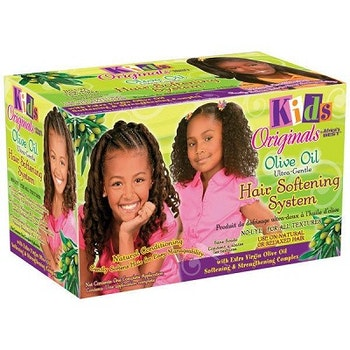 AFRICA'S BEST KIDS ORGANICS OLIVE OIL HAIR SOFTENING SYSTEM