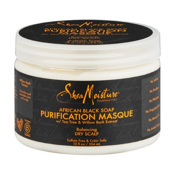 SHEA MOISTURE AFRICAN BLACK SOAP PURIFYING MASQUE 354ML