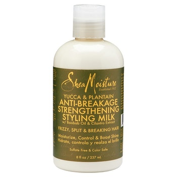 SHEA MOISTURE YUCCA & PLANTAIN  ANTI-BREAKAGE STYLING MILK 237ML