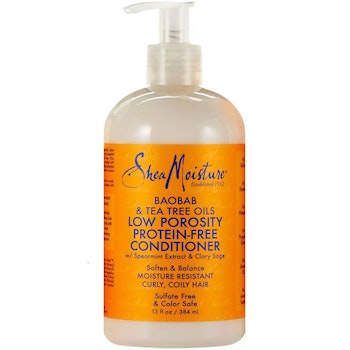 SHEA MOISTURE BAOBAB & TEA TREE OILS LOW POROSITY PROTEIN-FREE CONDITIONER 384ML