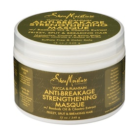 SHEA MOISTURE YUCCA & PLANTAIN ANTI-BREAKAGE STRENGTHENING MASQUE 340G