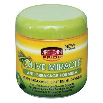 AFRICAN PRIDE OLIVE MIRACLE ANTI BREAKAGE FORMULA 170G